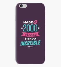 Made in 2000 iPhone Case