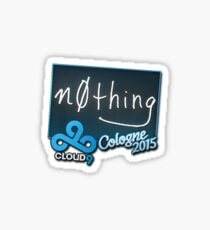 N0thing ESL One Cologne 2015 Sticker