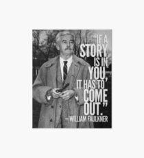 William Faulkner  Art Board