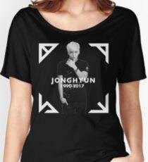 Jonghyun -Rare- Tribute Shirt- Women's Relaxed Fit T-Shirt