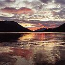 Invercoe Sunset by Mark Greenwood