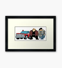 Cops Framed Print