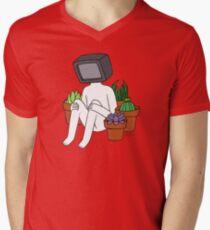 Resting Men's V-Neck T-Shirt