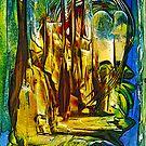 Moonlit Passage by liesbeth