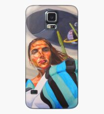 Planetary Peace (self portrait) Case/Skin for Samsung Galaxy