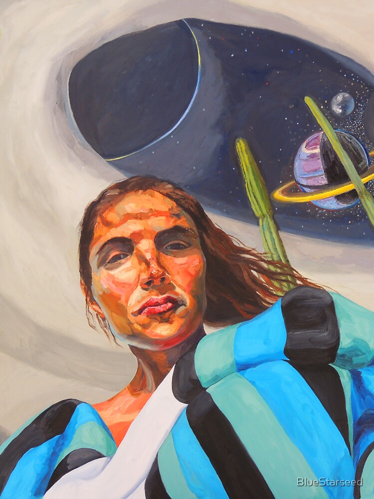 Planetary Peace (self portrait) by BlueStarseed