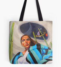 Planetary Peace (self portrait) Tote Bag