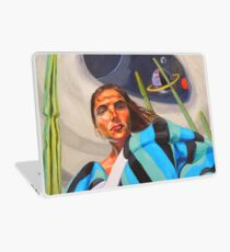 Planetary Peace (self portrait) Laptop Skin