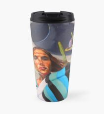 Planetary Peace (self portrait) Travel Mug