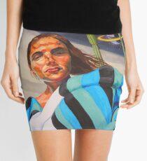Planetary Peace (self portrait) Mini Skirt