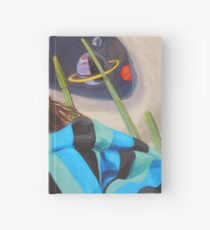 Planetary Peace (self portrait) Hardcover Journal