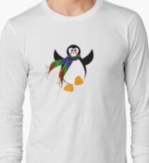 Winter Penguin Long Sleeve T-Shirt