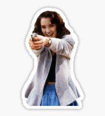 Winona Ryder sticker Sticker