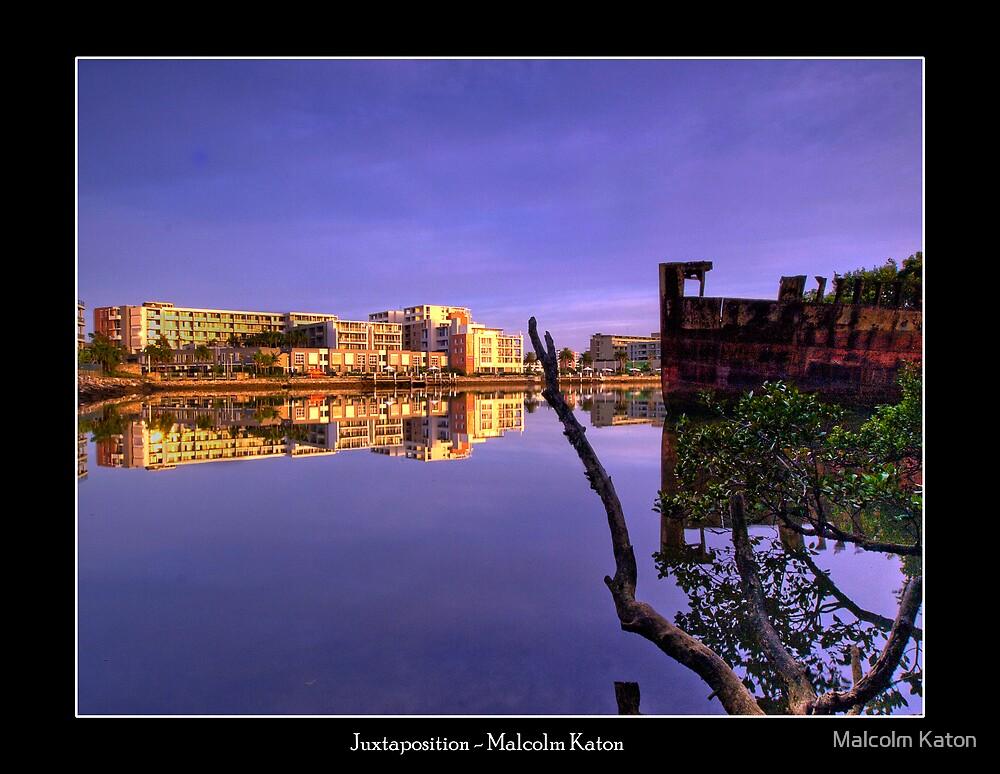 Juxtaposition - Homebush Bay, NSW by Malcolm Katon