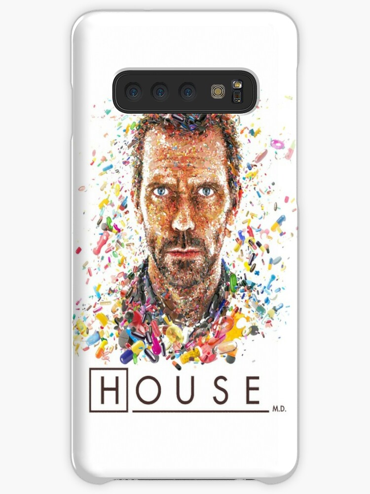 Dr House Vicodin Recommended Poster 3 iphone case