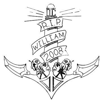 Rip William - Chloe Doodle  by mavisshelton