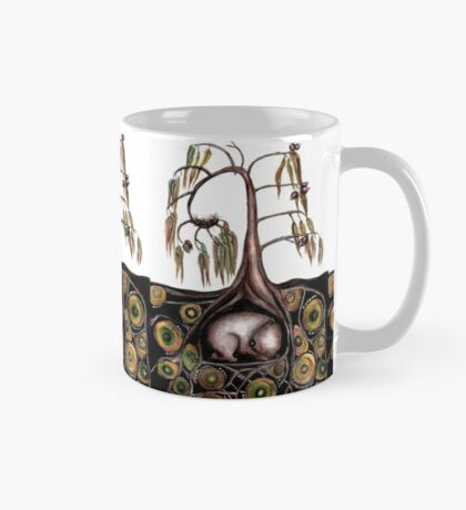 What's in the wombat burrow? Mug