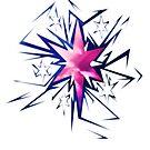 Shards of Twilight Sparkles Cutie Mark by Nightmarespoon