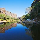 Windjana Gorge by Mary Jane Foster