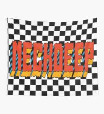 Checkered Neck Deep  Wall Tapestry