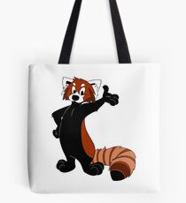 Rusty Red Panda Tote Bag