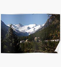 Roseg View, Switzerland Poster