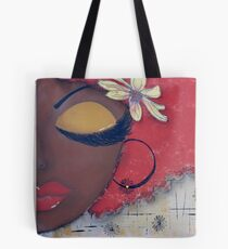 Sassy Chocolate Girl, African American Tote Bag