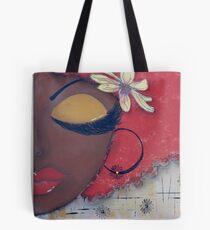 Sassy Chocolate Girl, African American Tote Bag