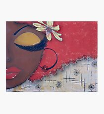 Sassy Chocolate Girl, African American Photographic Print