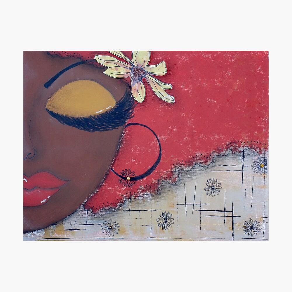 Sassy Chocolate Girl, African American Photographic Print
