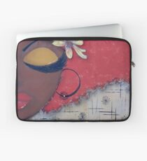 Sassy Chocolate Girl, African American Laptop Sleeve