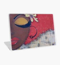 Sassy Chocolate Girl, African American Laptop Skin