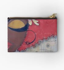 Sassy Chocolate Girl, African American Studio Pouch
