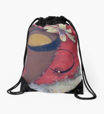 Sassy Chocolate Girl, African American Drawstring Bag