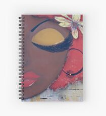 Sassy Chocolate Girl, African American Spiral Notebook