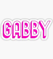 GABBY - PINK Sticker