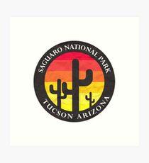 saguaro national park - 01 Art Print