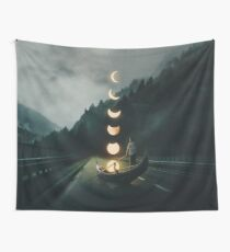 Moon Ride Wall Tapestry