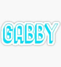 GABBY - SKY BLUE Sticker