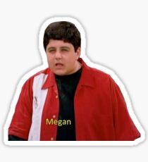 Pegatina Megan