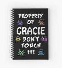 Property of Gracie Spiral Notebook
