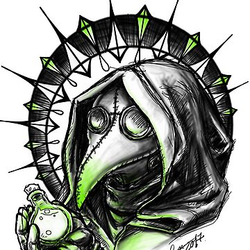 Plague doctor  by Bloodywings
