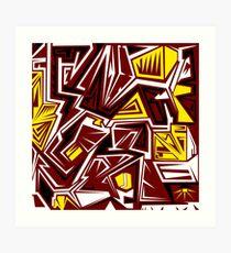 RedSkins Art Print