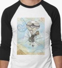 Steam Punk Men's Baseball ¾ T-Shirt