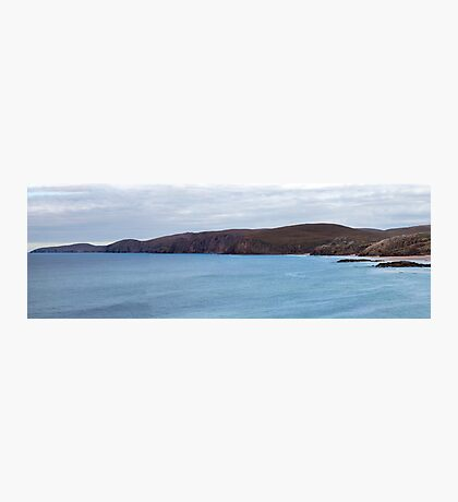 Sandwood Bay and Cape Wrath Panorama Photographic Print