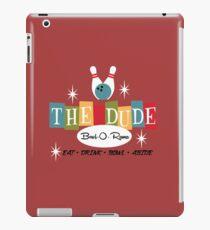 The Dude Bowling iPad Case/Skin