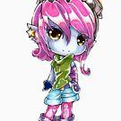Chibi Riot Girl Tristana by Pixel-League