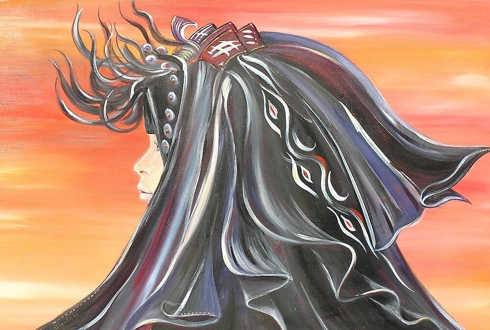 Girl in the Desert by Giselle Luske
