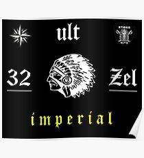 Denzel Curry 32 Zel ULT Imperial Tapestry Poster