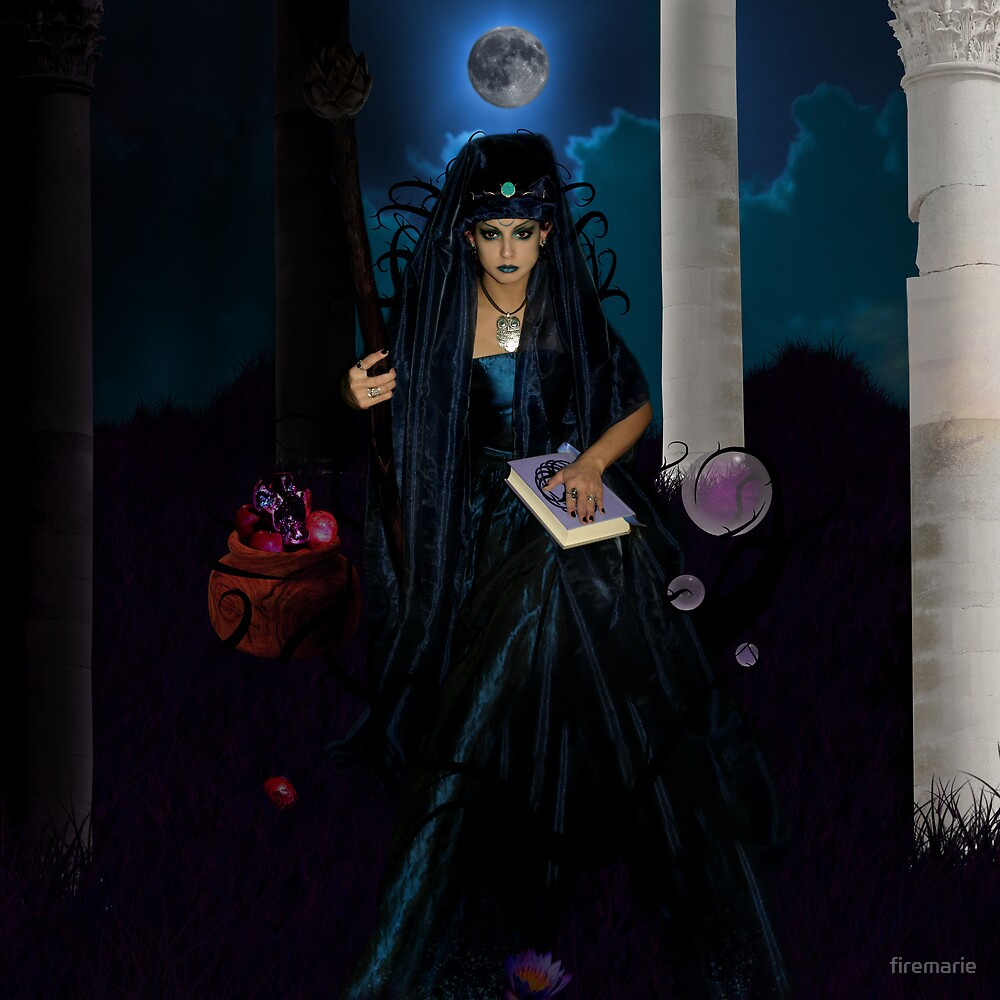 The High Priestess  by firemarie